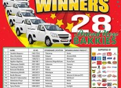 2016 Winners – 28 NEW BAKKIES!